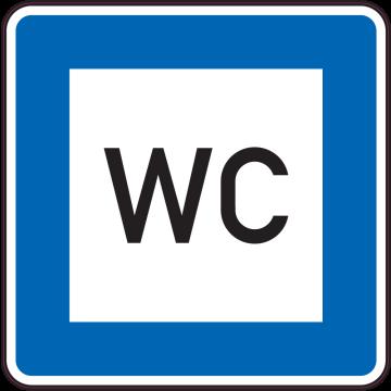 Autocollant Indication Wc