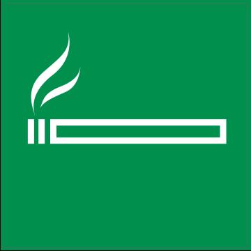 Autocollant Indication Autorisation De Fumer
