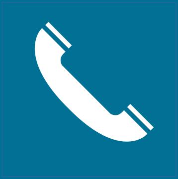 Autocollant Indication Téléphone