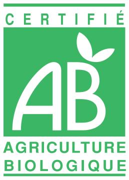 Autocollant Agriculture Biologique Certifié