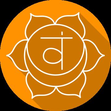 Autocollant Zen Chakra Svadhishthana