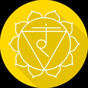 Autocollant Zen Chakra Manipura