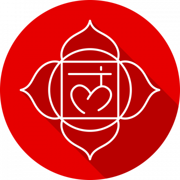 Autocollant Zen Chakra Muladhara