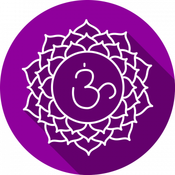 Autocollant Zen Chakra Sahasrara