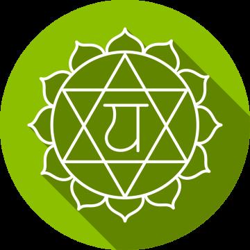 Autocollant Zen Chakra Anahata