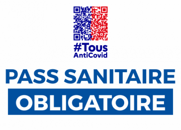 Sticker Pass Sanitaire Obligatoire - ref.d17954   MPA Pro