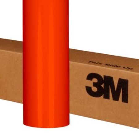 7,32 €//m auto voiture voiture film Orange clair brillant même film adhésif 3 M