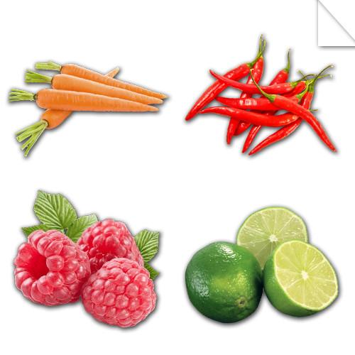 Autocollants Fruits et Légumes