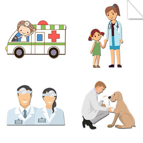 Autocollants Santé & Sciences