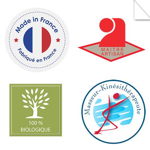 Autocollants Logo