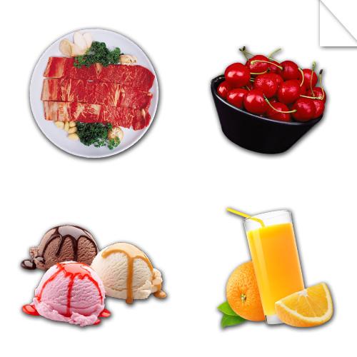 Autocollants Alimentation et Boisson