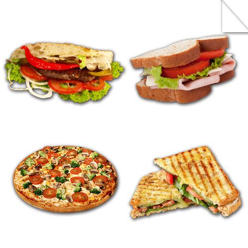 Autocollants Fast Food