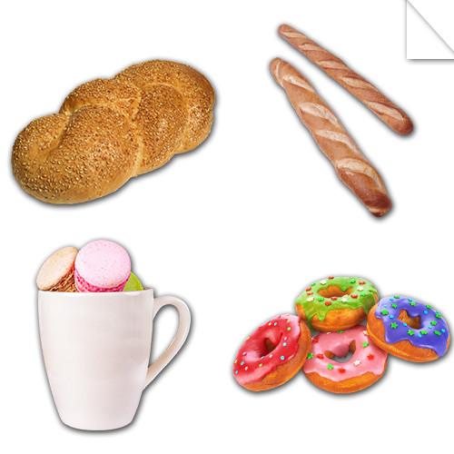 Autocollants Pâtisserie et Boulangerie
