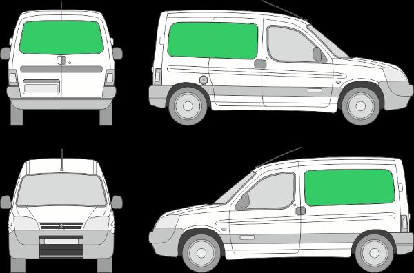 Citroën Berlingo L1H1 (2005-2007)
