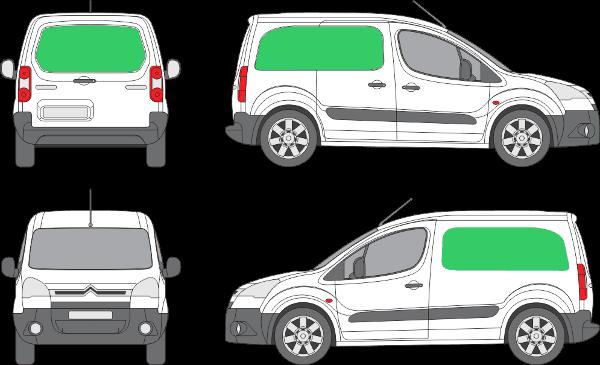 Citroën Berlingo L1H1 (2008-2017)