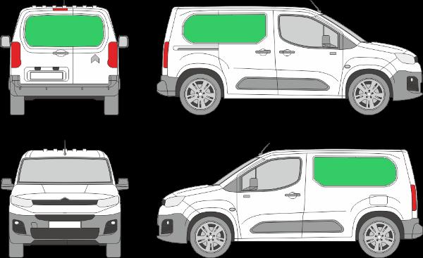 Citroën Berlingo L1H1 (2018-2021)