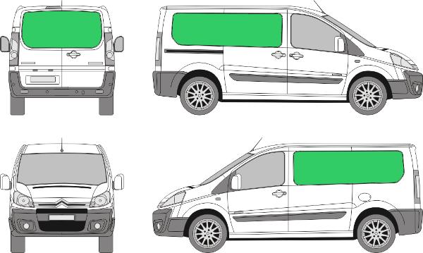 Citroën Jumpy L1H1 (2007-2015)