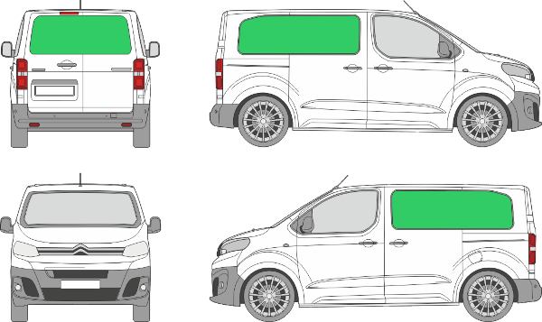 Citroën Jumpy L1H1 (2016-2021)