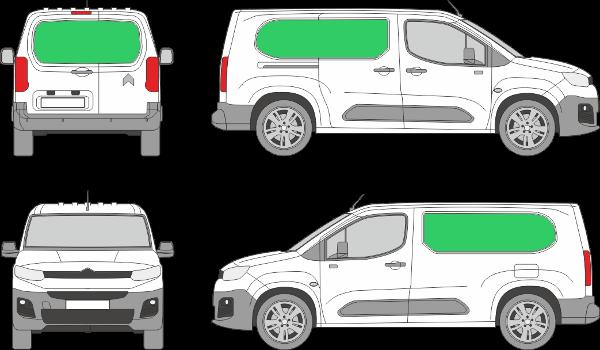 Citroën Berlingo L2H1 (2018-2021)