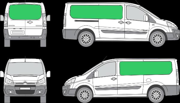 Citroën Jumpy L2H1 (2007-2015)