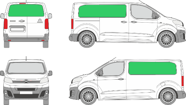 Citroën Jumpy L2H1 (2016-2021)