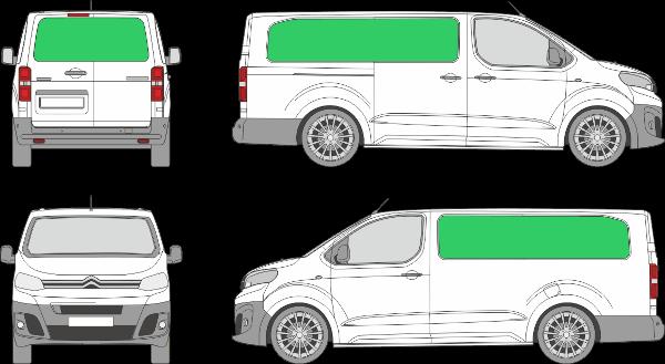 Citroën Jumpy L3H1 (2016-2021)