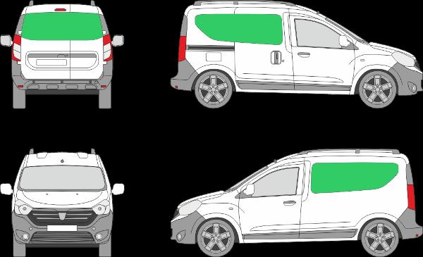 Dacia Dokker L1H1 (2012-2021)
