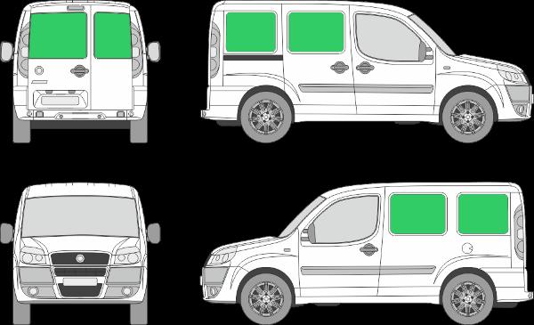 Fiat Doblo L1H1 (2001-2009)
