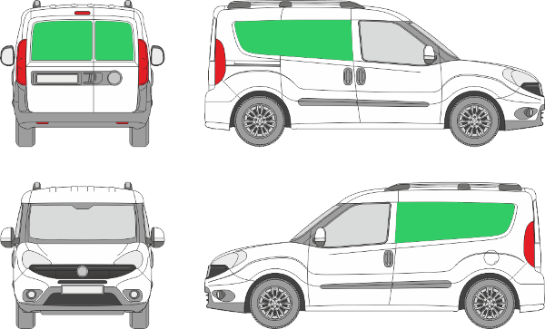Fiat Doblo L1H1 (2015-2021)