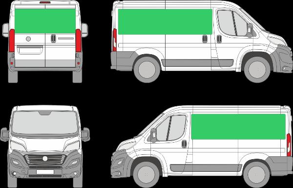 Fiat Ducato L1H1 (2014-2021)