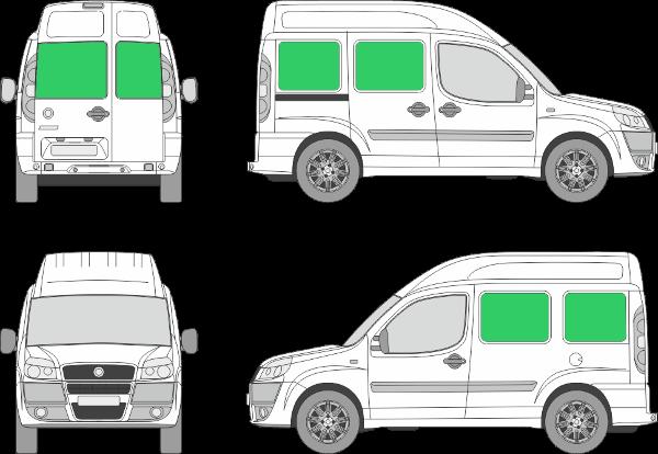 Fiat Doblo L1H2 (2001-2009)