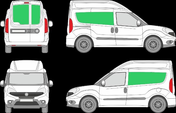 Fiat Doblo L1H2 (2015-2021)
