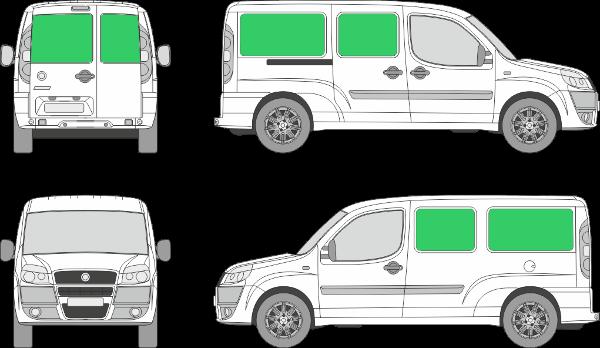 Fiat Doblo L2H1 (2001-2009)