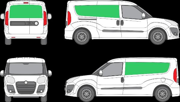 Fiat Doblo L2H1 (2010-2014)