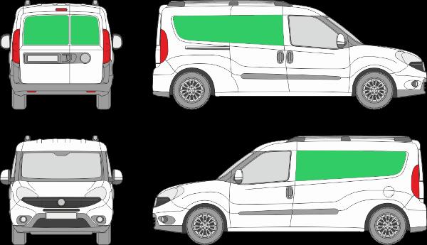 Fiat Doblo L2H1 (2015-2021)