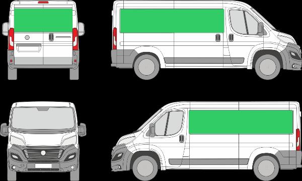 Fiat Ducato L2H1 (2014-2021)