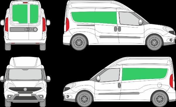 Fiat Doblo L2H2 (2015-2021)