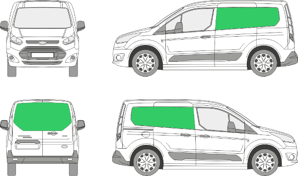 Ford Connect L1H1 (2013-2021)