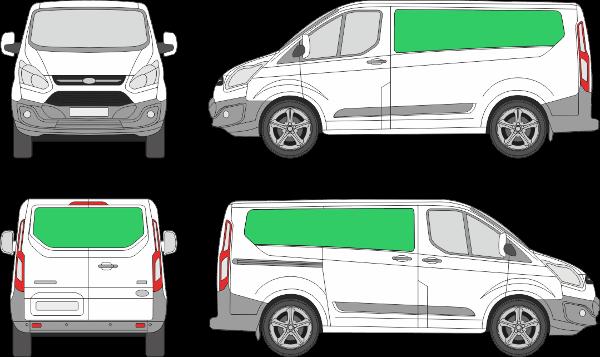 Ford Custom L1H1 (2012-2017)
