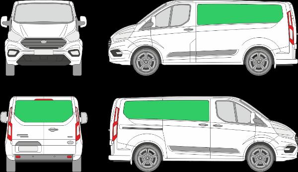 Ford Custom L1H1 (2018-2021)