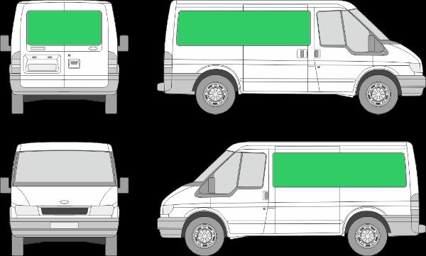 Ford Transit L1H1 (2000-2005)