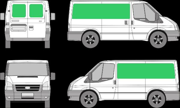 Ford Transit L1H1 (2006-2012)