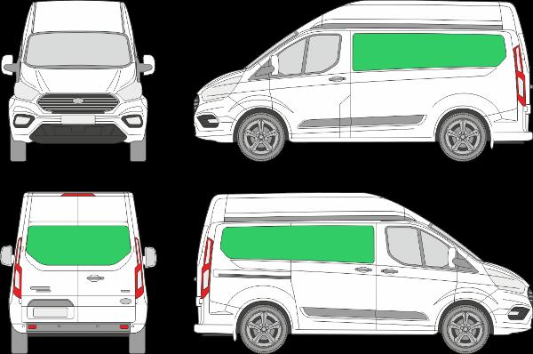 Ford Custom L1H2 (2018-2021)