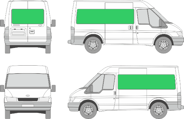 Ford Transit L1H2 (2000-2005)