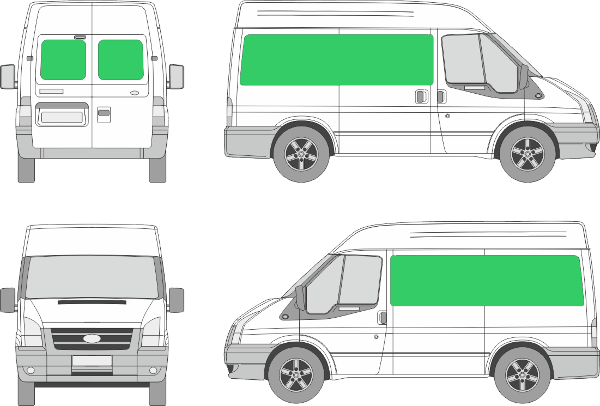 Ford Transit L1H2 (2006-2012)