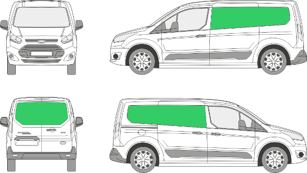 Ford Connect L2H1 (2013-2021)