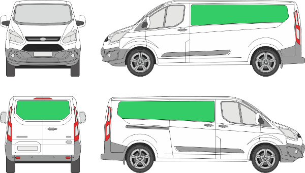 Ford Custom L2H1 (2012-2017)