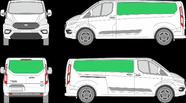 Ford Custom L2H1 (2018-2021)