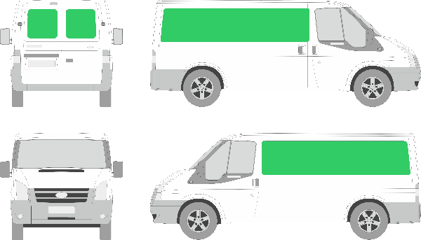 Ford Transit L2H1 (2006-2012)