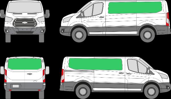 Ford Transit L2H1 (2013-2021)